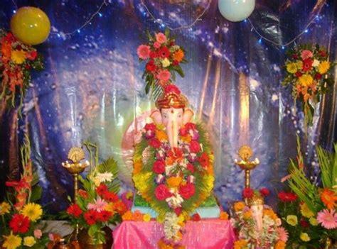 Ganesh Chaturthi 2012 Decoration Ganpati Decoration Ideas