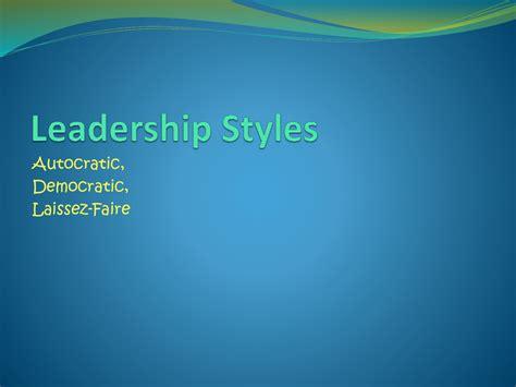 autocratic leader