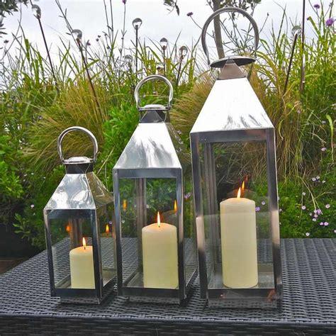 lanterne de jardin d 233 corer jardin avec de la lumi 232 re douce
