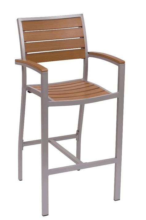 new largo commercial outdoor restaurant bar stool with