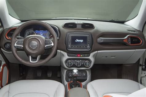jeep renegade interior 2016 2016 jeep renegade limited awd multijet diesel review