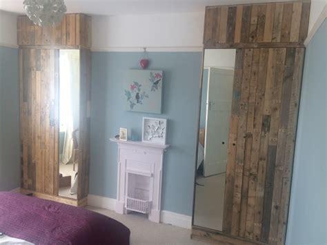 pallet wood wardrobes aspect  aspect