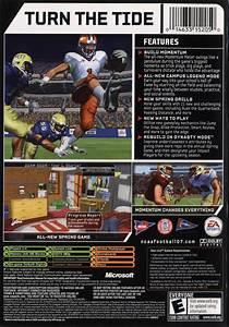 ncaa football 07 2006 playstation 2 box cover