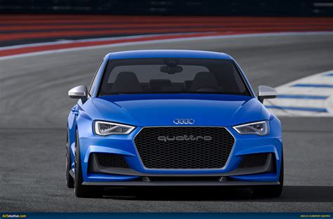 New for the audi a3, the mmi® touch display infotainment system features a. AUSmotive.com » Audi A3 clubsport quattro concept revealed
