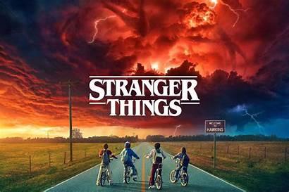 Stranger Things Tv Poster Seasons Netflix Rush