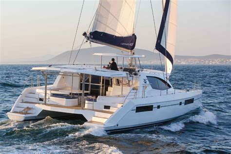 Catamaran Hull Graphics by The Most Comfortable Sailboat 5 Sailing Catamarans To