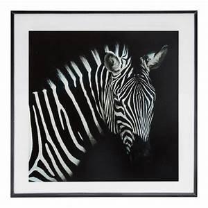 Cadre Noir Et Blanc : cadre photo 28x28 z bre noir et blanc cadre photo eminza ~ Teatrodelosmanantiales.com Idées de Décoration