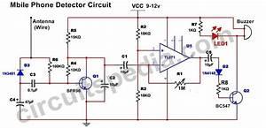 Mobile Phone Sensor Circuit