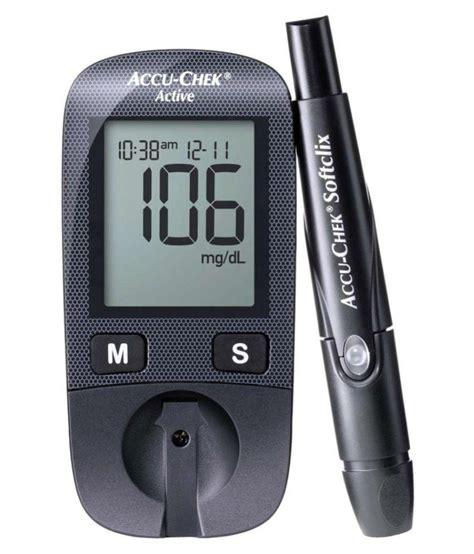 accu chek active glucose monitor  lifetime warranty