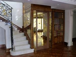 ascenseur privatif de luxe installe dans un duplex a With ascenseur de maison individuelle