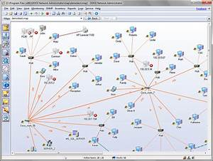 Network Mapping Software - Map - Monitor