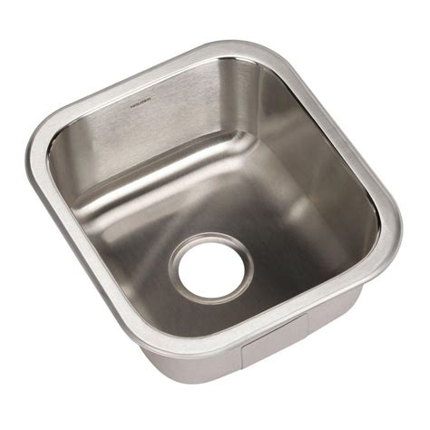 Home Depot Stainless Bar Sink by Houzer Club Series Undermount Stainless Steel 16 In