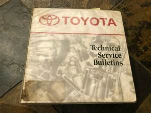 1996 1997 1998 1999 Toyota Camry 4runner Technical Service