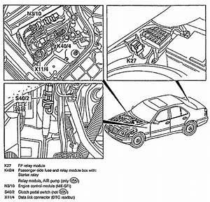 Need To Know The Position Of The Secondary Air Injection Relay In The Fuse Box On A 1997
