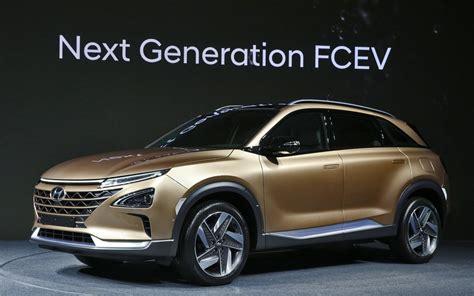Hyundai Electric Suv 2020 by Hyundai Unveils Its Next Generation Hydrogen Powered Suv