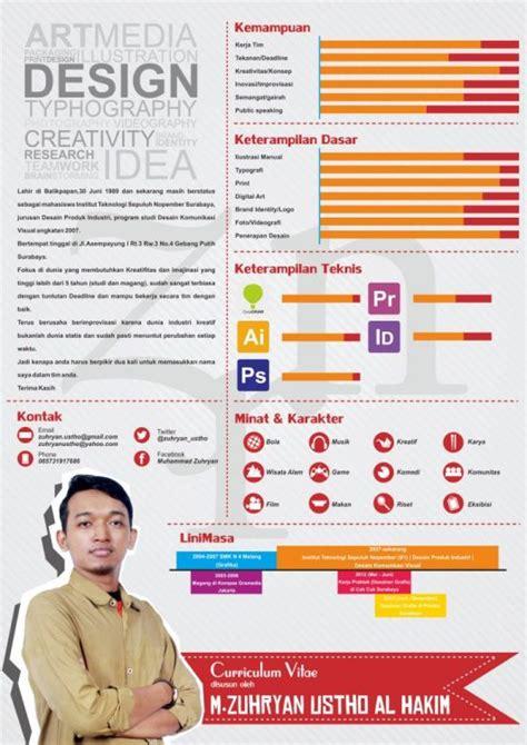 Itulah contoh cv yang lengkap, menarik, dan mudah dibuat oleh para pemula. 11+ Contoh CV Kreatif / Menarik / Fresh Graduate / Baik ...