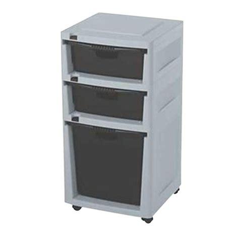 suncast plastic storage cabinets suncast storage trends 3 drawer tower drt1288cd the home