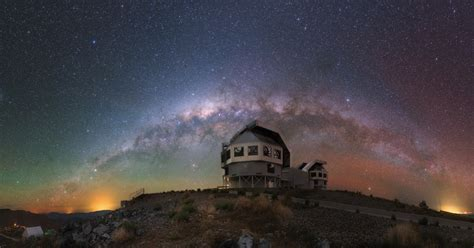 The Milky Way Galaxy Total Lunar Eclipse Earth Blog