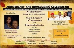 Church & Pastors' 14th Anniversary – Sunday, October 2 ...