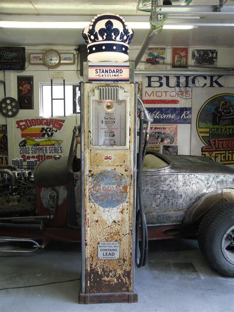 unrestored  gilbarco  gas pump  hamb