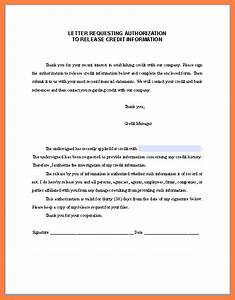 8 authorization to pull credit report form progress report With credit report request form letter