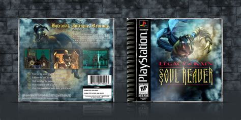 Soul Reaver Playstation Box Art Cover By