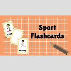 Sport Flashcards  Name Of Sport By Babya Nursery Channel Youtube