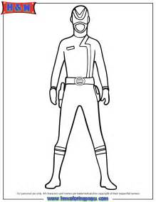 Red Power Ranger Coloring Pages