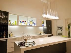 creative kitchen island kitchen lighting ideas