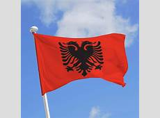 Drapeau de l'Albanie