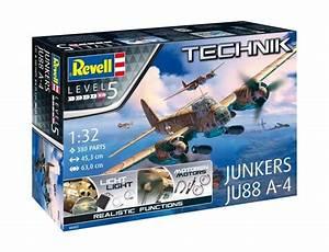 Plastic Kits - AIRCRAFT/SPACE - REVELL TECHNIK JUNKERS JU ...