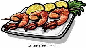 Fried shrimp plate Stock Illustrations. 133 Fried shrimp ...