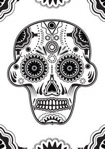 Sugar Skull Designs Coloring Pages