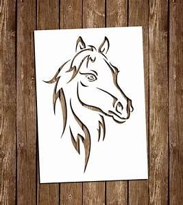 horse svg cutting files pdf paper cutting template horse With paper cut out art templates