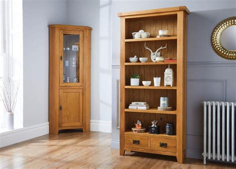 Oak Bookcases With Drawers by Country Oak Bookcase With Drawers