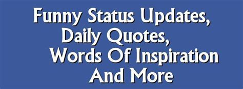 Famous Quotes For Facebook Status Updates Image Quotes At