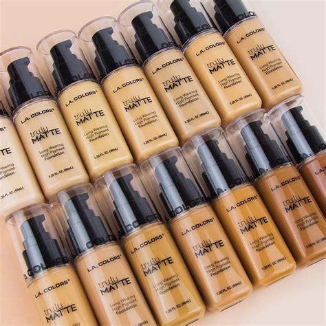 base de maquillaje truly matte l a colors envio gratis