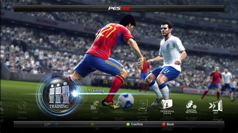 One more year, and it's been 25 years, konami launches a new pro evolution. PES 2012 - Download