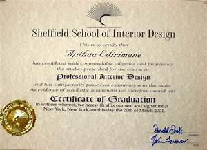 Interior design certificate beautiful home interiors for Certification for interior decorator