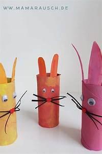 Basteln Mit Kindern Schnell Und Einfach : 3 verschiedene osterhasen basteln mit papier osterhasen ~ A.2002-acura-tl-radio.info Haus und Dekorationen