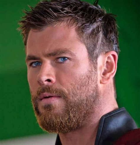thor short hairstyle hairstyle   beard styles