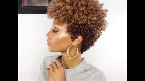 Tapered Curly Crochet Hair