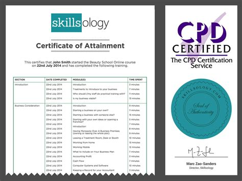 Certificate Courses by School Course Skillsology