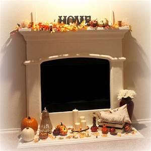 Fall, U0026, Thanksgiving, Mantel, Decor