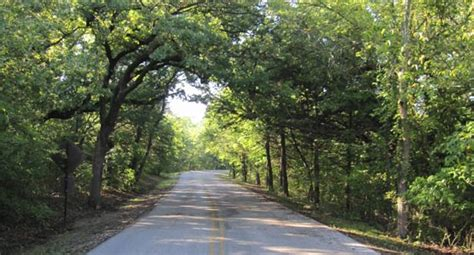 perimeter road chickasaw national recreation area