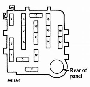 2002 Mazda B3000 Fuse Box Diagram
