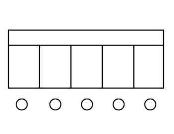 elkonin boxes elkonin box workmats blank 2 3 4 5 boxes by jackson