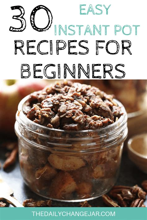 pot instant beginners recipes easy cooking