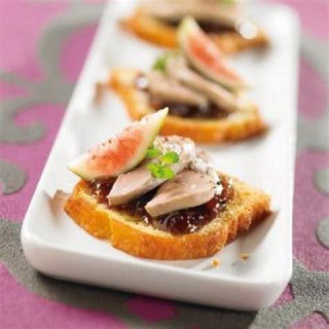 canapé au foie gras photos canapé foie gras recette