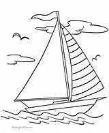 Coloring Pages Printable Boats Raisingourkids Boat Drawing Sail Patterns Quilling Glass Sheets Stained sketch template